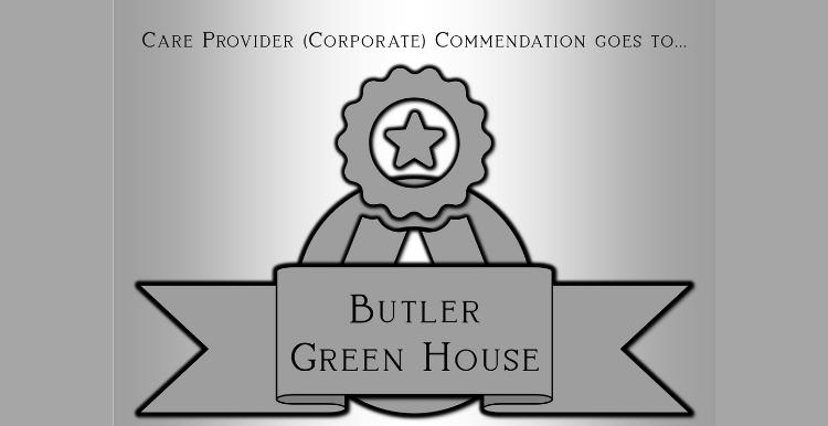 Butler Green Site Award