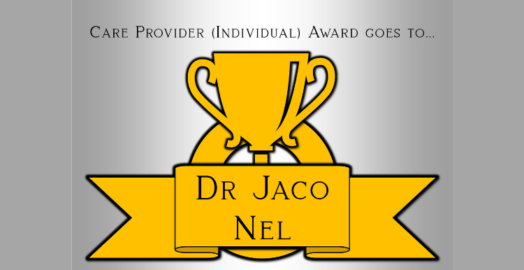 Dr Jaco Nel Award
