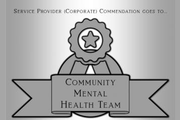 Community Mental Health Team Award