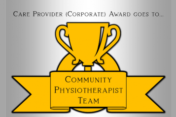 Community Physiotherapists Team Award