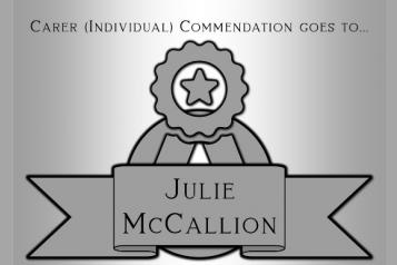 Julie McCallion Award