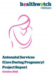 Antenatal Services Report Cover