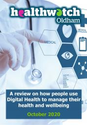 digital health report cover