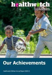 Annual report 20-21 cover
