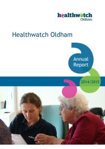annual report 2014-15 cover