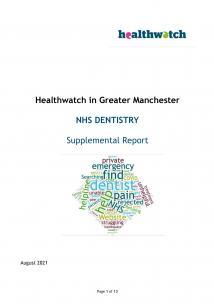 GM Dental Report Cover