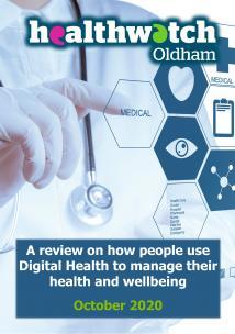 digital health report cover
