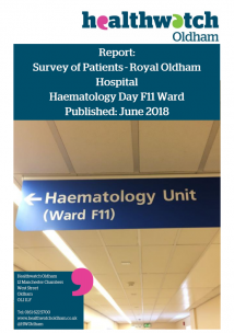 Haematology Report Front Cover
