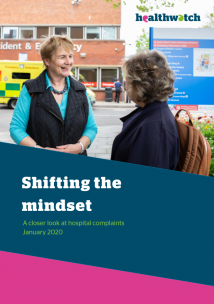 HWE Shifting the mindset: a closer look at NHS complaints cover